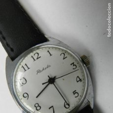 Relojes de pulsera: ANTIGUO RELOJ PULSERA RAKETA AÑOS 60 USSR RUSIA CARGA MANUAL. Lote 142783330