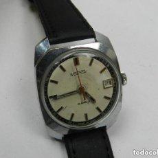 Relojes de pulsera: ANTIGUO RELOJ A CUERDA PULSERA MARCA WOSTOK CALENDARIO USSR VINTAGE AÑOS 60. Lote 142783458