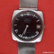 Relojes de pulsera: RELOJ VANROY DE CUERDA, FUNCIONANDO, SE ADELANTA MUCHO, HOMBRE, 31 MM S.C.C.VINTAGE.. Lote 142865046