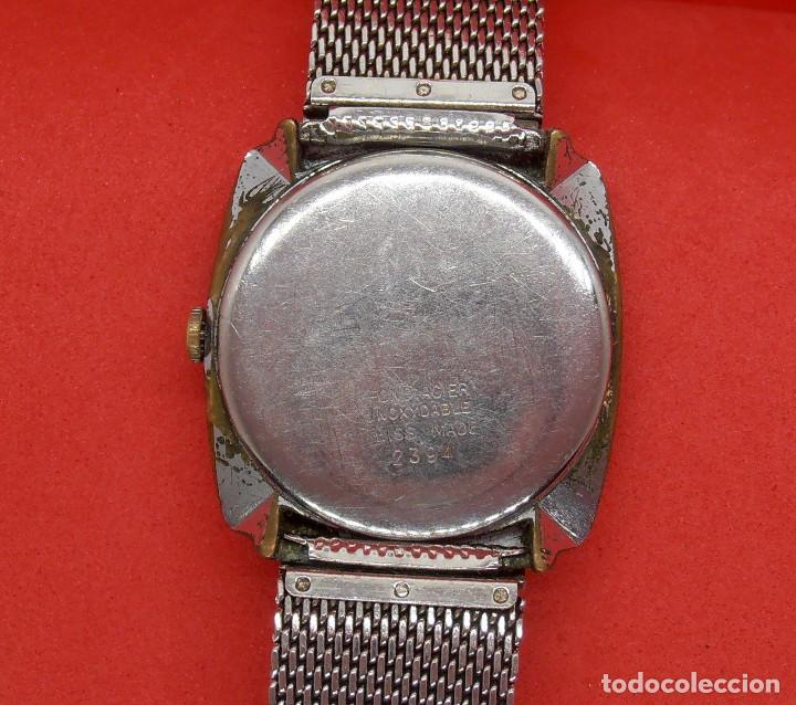 Relojes de pulsera: reloj vanroy de cuerda, funcionando, se adelanta mucho, hombre, 31 mm s.c.c.vintage. - Foto 3 - 142865046