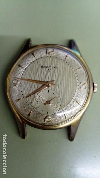 INMENSO RELOJ CERTINA DE 38,5 MM (Relojes - Pulsera Carga Manual)