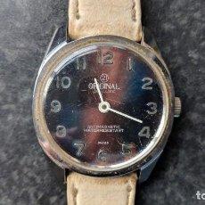 Relojes de pulsera: RELOJ DE CUERDA MARCA ORIGINAL, DE HOMBRE, 35 MM S.C.C. NO FUNCIONA.. Lote 143253894