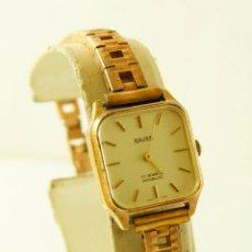 Relojes de pulsera: SAVAR DE DAMA MECANICO NOS CHAPADO EN ORO VINTAGE FUNCIONANDO. Lote 143316478