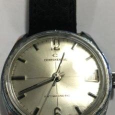 Relojes de pulsera: RELOJ CONTINENTAL CARGA MANUAL MAQUINARIA SWISS MADE CON DIAL COMO NUEVO. Lote 143326966