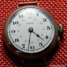 Relojes de pulsera: RELOJ DE PULSERA MECANICO MARCA VERA – 24 GRAMOS – 38 MM – MADE IN SUIZA –. Lote 143456626
