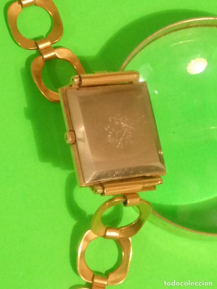 Relojes de pulsera: D U W A R D - MANUAL. AÑOS 50. FUNCIONANDO. 27.60 MM. ((( IMPECABLE ))) INFO EN DESCRIPCION. - Foto 4 - 143567754