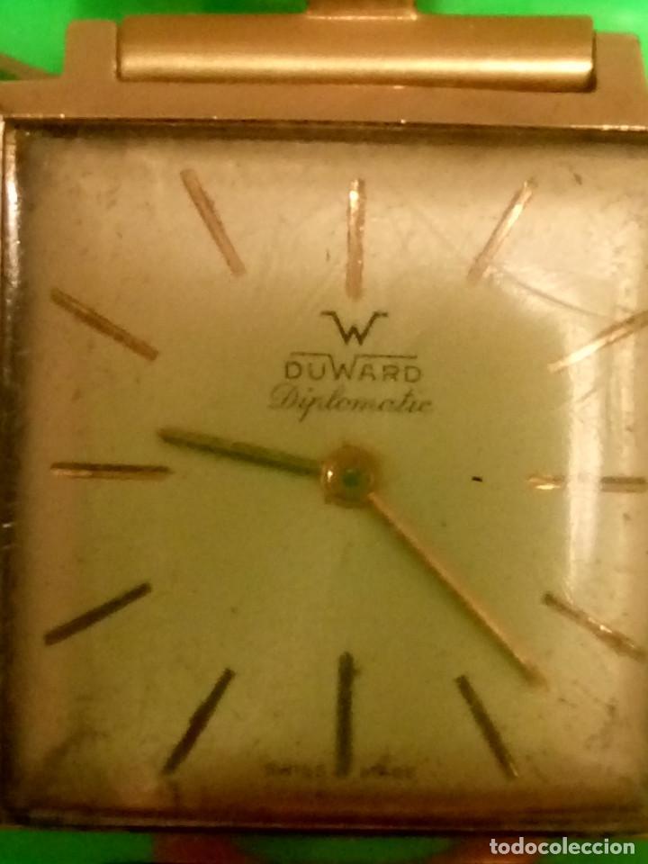 Relojes de pulsera: D U W A R D - MANUAL. AÑOS 50. FUNCIONANDO. 27.60 MM. ((( IMPECABLE ))) INFO EN DESCRIPCION. - Foto 8 - 143567754