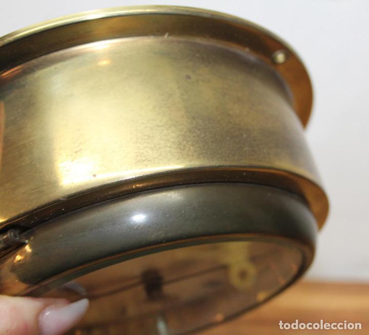 Relojes de pulsera: ANTIGUO RELOJ NAUTICO ALEMAN BARCO 8 DIAS SONERIA LATON 18 X 8 CM PERFECTO FUNCIONAMIENTO 530,00 € - Foto 12 - 143635474