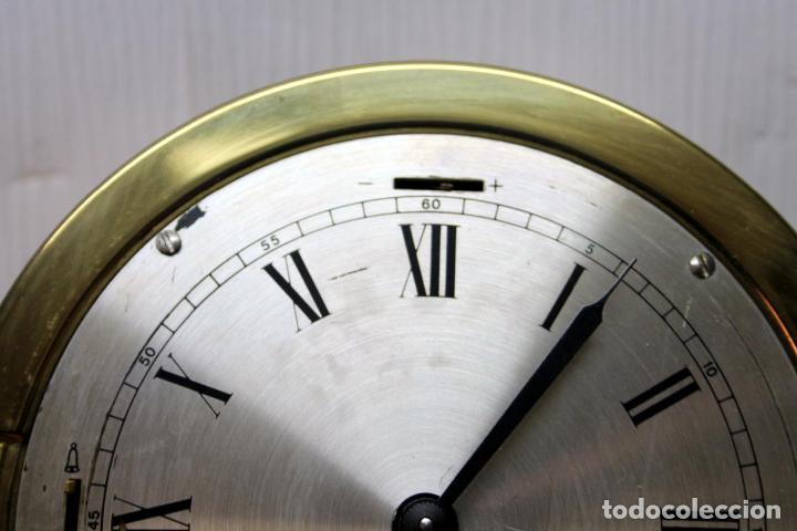 Relojes de pulsera: ANTIGUO RELOJ NAUTICO ALEMAN BARCO 8 DIAS SONERIA LATON 18 X 8 CM PERFECTO FUNCIONAMIENTO 530,00 € - Foto 19 - 143635474