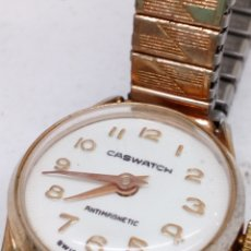 Relojes de pulsera: RELOJ CASWATCH ANTIMAGNETIC CARGA MANUAL. Lote 143733737