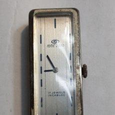 Relojes de pulsera: RELOJ ROTIC 2000 CARGA MANUAL VINTAGE PLATA 0925 FUNCIONANDO. Lote 143776976