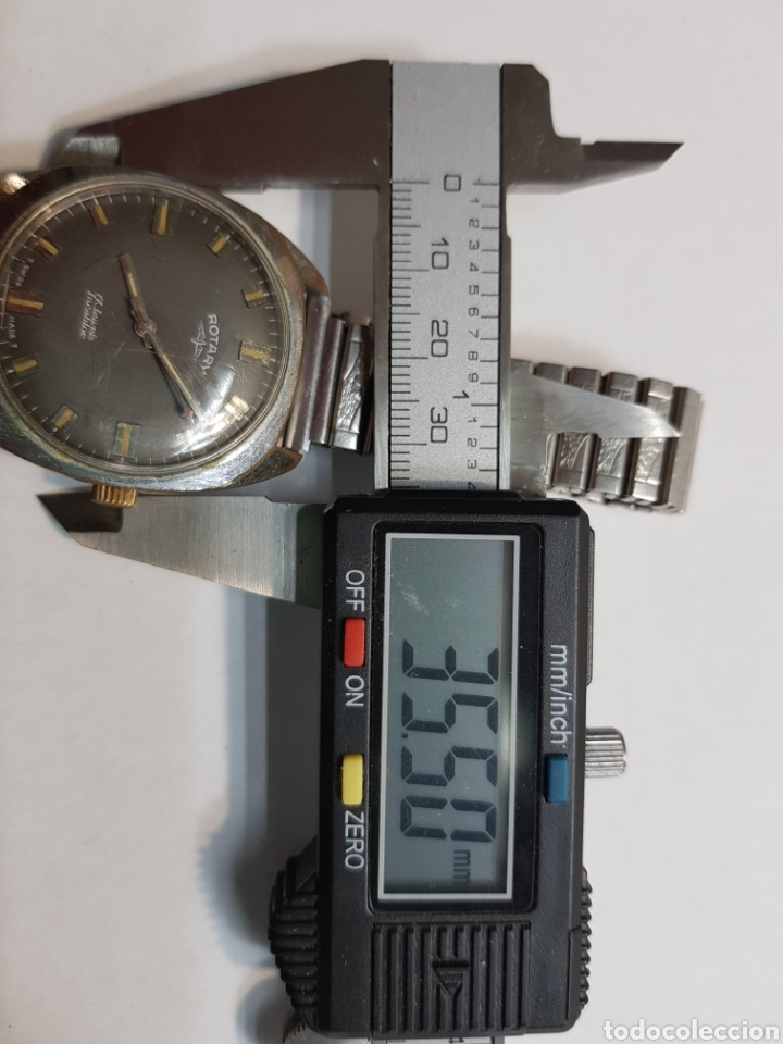 Relojes de pulsera: Reloj antiguo Rotary carga manual 17 jewels funcionando - Foto 4 - 143777121