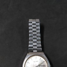 Relojes de pulsera: RELOJ DE PULSERA CARGA MANUAL, CABALLERO, SEIKO, METALICO, FUNCIONANDO. Lote 143795054
