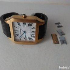 Relojes de pulsera: RELOJ CARTIER ( REPRODUCCIÓN?) AUTOMÁTICO, FUNCIONA PERFECTAMENTE ,. Lote 143808918
