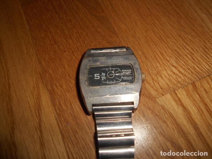 Relojes de pulsera: Reloj EDWARD BULER SUPER-NOVA INCABLOC 17JEWELS DE CUERDA SWISS MADE FUNCIONANDO TODO ORIGINAL - Foto 2 - 144009482