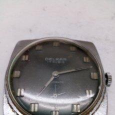 Relojes de pulsera: RELOJ DELKAR PARA PIEZAS 17RUBIS. Lote 144445425
