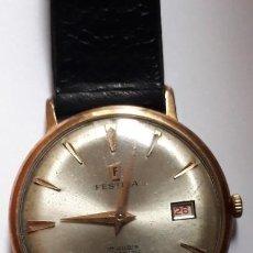 Relojes de pulsera: RELOJ DE PULSERA CABALLERO CARGA MANUAL FESTINA 17 RUBIS FUNCIONANDO,VER DESCRIPCION Y FOTOS-. Lote 144446710