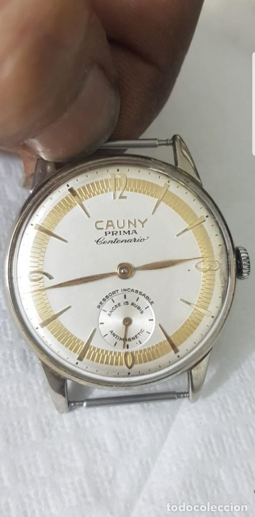 f7abd0b6574a Reloj de colecion cauny centenario casi a estre - Vendido en Subasta ...