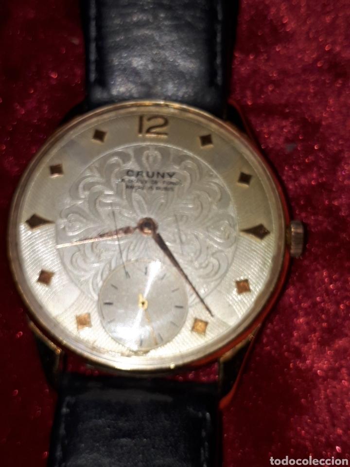 reloj antiguo de cuerda marca cauny - Comprar Relojes antiguos de ... 3bd23319ec74
