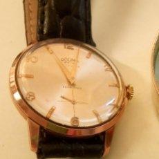 Relojes de pulsera: DOGMA - MANUAL. AÑOS 50. FUNCIONANDO. 35.1 MM. S/C. P. ORO. TESTADO Y AJUST. INFO EN DESCRIPCION.. Lote 144830502
