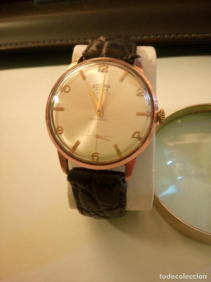 Relojes de pulsera: DOGMA - MANUAL. AÑOS 50. FUNCIONANDO. 35.1 MM. S/C. P. ORO. TESTADO Y AJUST. INFO EN DESCRIPCION. - Foto 2 - 231014475