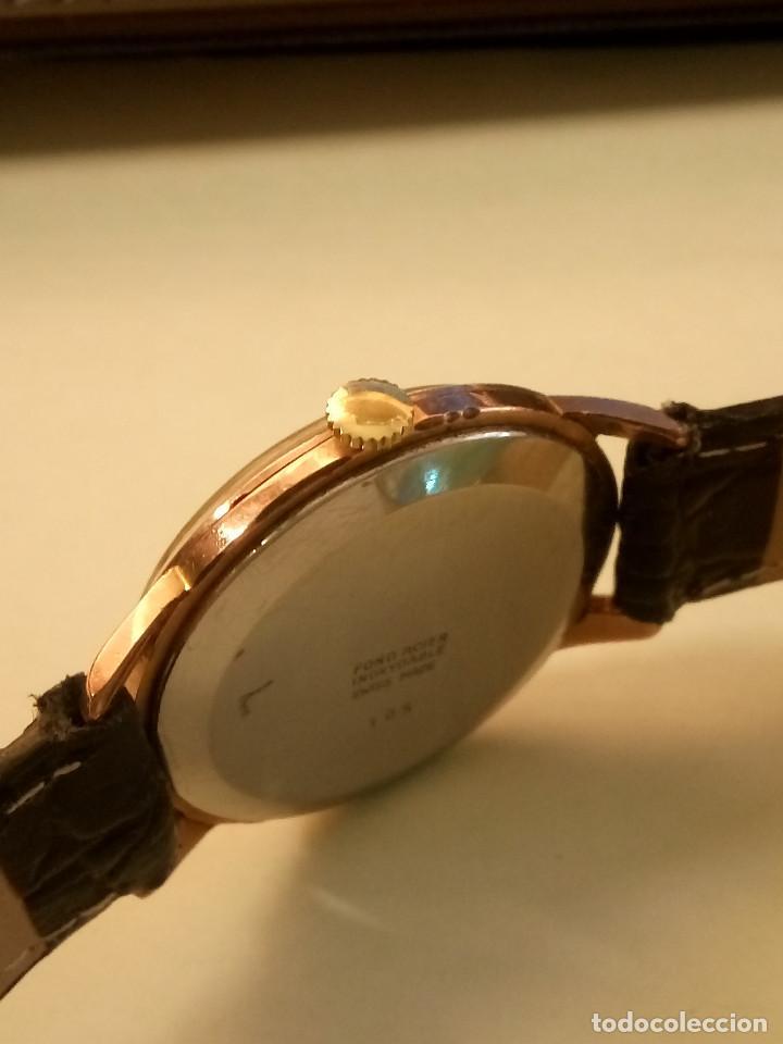 Relojes de pulsera: DOGMA - MANUAL. AÑOS 50. FUNCIONANDO. 35.1 MM. S/C. P. ORO. TESTADO Y AJUST. INFO EN DESCRIPCION. - Foto 3 - 231014475