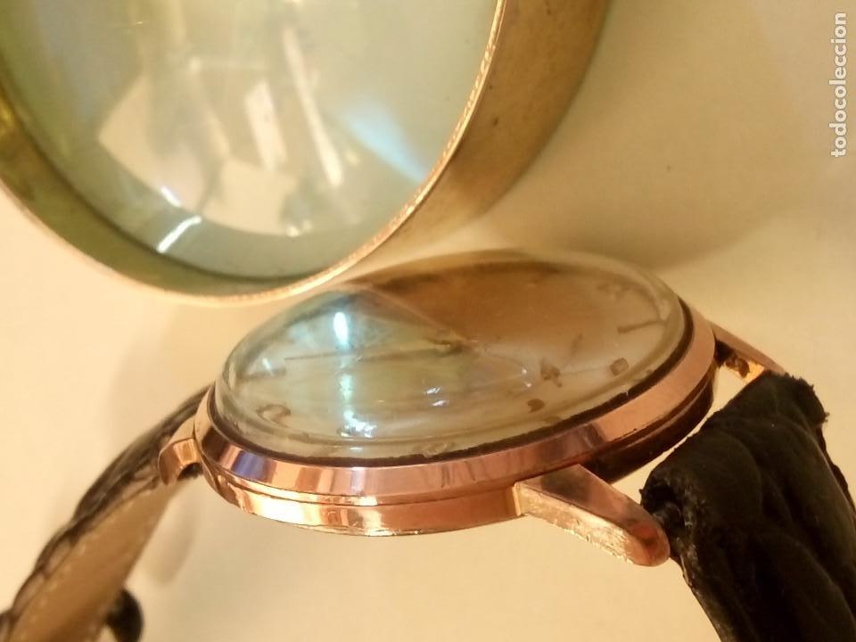Relojes de pulsera: DOGMA - MANUAL. AÑOS 50. FUNCIONANDO. 35.1 MM. S/C. P. ORO. TESTADO Y AJUST. INFO EN DESCRIPCION. - Foto 4 - 231014475