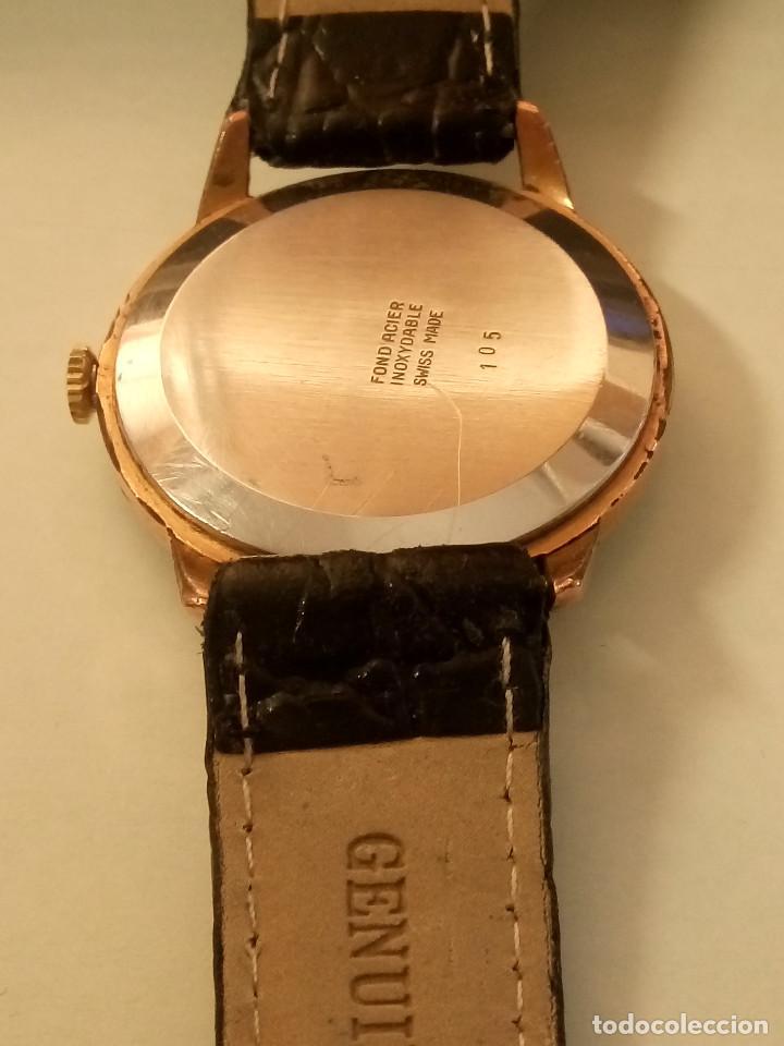 Relojes de pulsera: DOGMA - MANUAL. AÑOS 50. FUNCIONANDO. 35.1 MM. S/C. P. ORO. TESTADO Y AJUST. INFO EN DESCRIPCION. - Foto 6 - 231014475