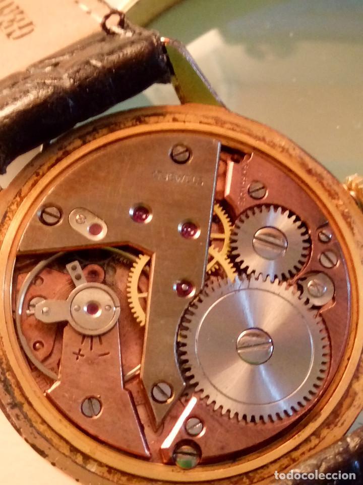 Relojes de pulsera: DOGMA - MANUAL. AÑOS 50. FUNCIONANDO. 35.1 MM. S/C. P. ORO. TESTADO Y AJUST. INFO EN DESCRIPCION. - Foto 7 - 231014475
