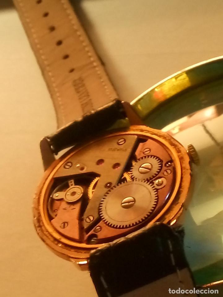 Relojes de pulsera: DOGMA - MANUAL. AÑOS 50. FUNCIONANDO. 35.1 MM. S/C. P. ORO. TESTADO Y AJUST. INFO EN DESCRIPCION. - Foto 8 - 231014475