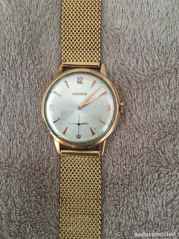 ca919226d938 Reloj oro 18k marca movado de cuerda 39mm año 1960 completamente revisado -  España - Reloj