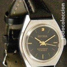 Relojes de pulsera: RARISIMO RELOJ BIFORA MUJER ALEMÁN CUERDA. NUEVO.. Lote 145510102