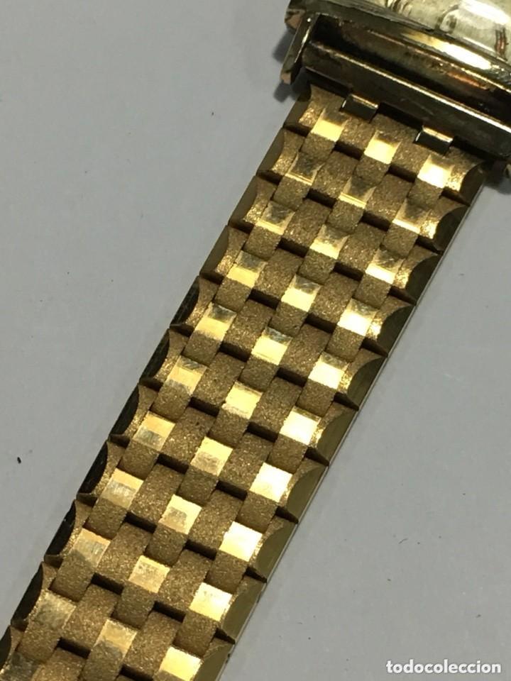 Relojes de pulsera: reloj dogma prima chapado en oro y cadena tambien ,piezas originales reloj - Foto 3 - 145616642