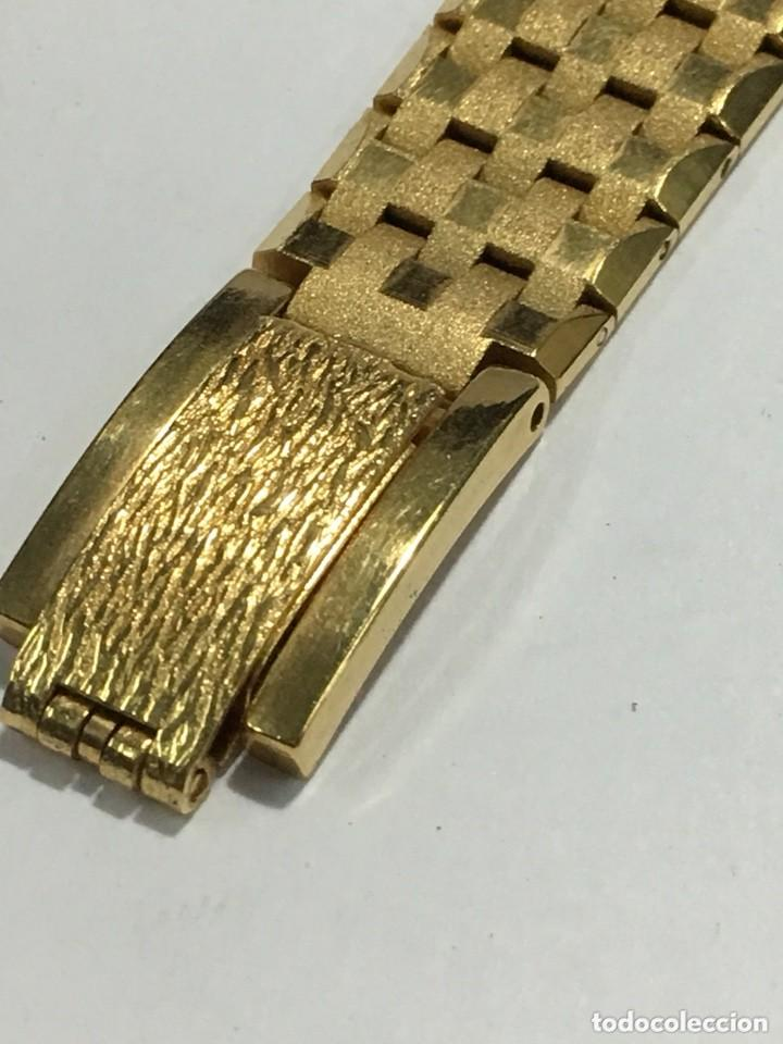 Relojes de pulsera: reloj dogma prima chapado en oro y cadena tambien ,piezas originales reloj - Foto 4 - 145616642