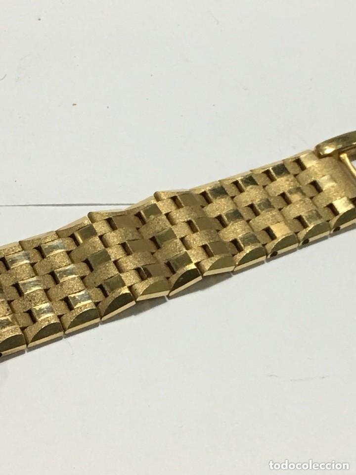 Relojes de pulsera: reloj dogma prima chapado en oro y cadena tambien ,piezas originales reloj - Foto 5 - 145616642