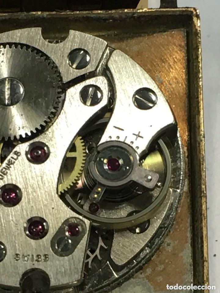 Relojes de pulsera: reloj dogma prima chapado en oro y cadena tambien ,piezas originales reloj - Foto 8 - 145616642