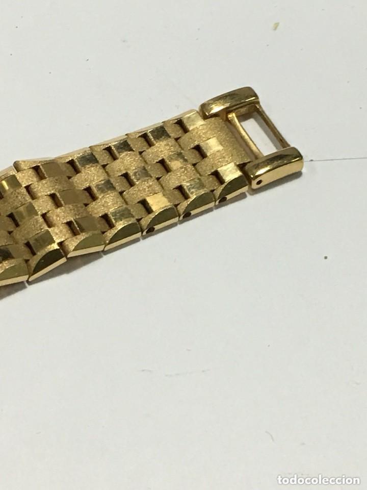 Relojes de pulsera: reloj dogma prima chapado en oro y cadena tambien ,piezas originales reloj - Foto 9 - 145616642