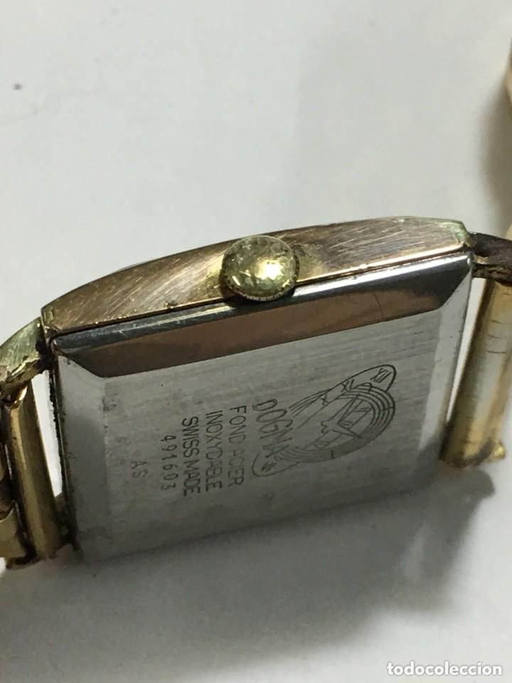 Relojes de pulsera: reloj dogma prima chapado en oro y cadena tambien ,piezas originales reloj - Foto 10 - 145616642