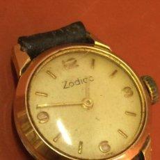 Relojes de pulsera: CURIOSO RELOJ DE PULSERA ZODIAC, SWISS. MODELO ESCASO. . Lote 145631934