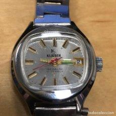 Relojes de pulsera: RELOJ DE PULSERA CARGA MANUAL. KLAIBER INCABLOC 17 JEWELS.. Lote 145973969