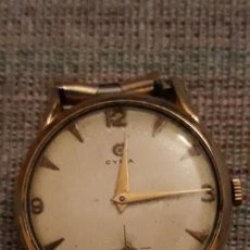 Relojes de pulsera: RELOJ DE PULSERA CARGA MANUAL CABALLERO CYMA REF 586 K, FUNCIONA. Lote 146023822
