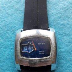 Relojes de pulsera: RELOJ DIGITAL MECÁNICO ANTIGUO. MARCA ZONIKU DE CABALLERO. Lote 146101538
