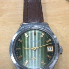 Relojes de pulsera: BONITO RELOJ DE PULSERA CARGA MANUAL. KLAIBER 17 JEWELS. FUNCIONA.. Lote 146116828