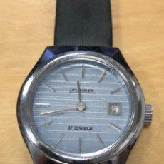 Relojes de pulsera: BONITO RELOJ DE PULSERA DE CARGA MANUAL. KLAIBER 17 JEWELS. FUNCIONA.. Lote 146117449