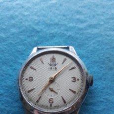 Relojes de pulsera: RELOJ ANTIGUO MARCA IBIS DE LUXE. CLÁSICO DE CABALLERO.. Lote 146217902