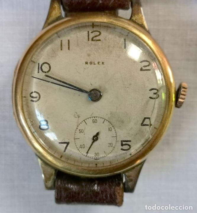 Relojes de pulsera: ROLEX WD. ORO 9KT. NECESITA REVISIÓN Y ALGUNA REPARACIÓN. SUIZA. PRINC. S. XX - Foto 2 - 154261756