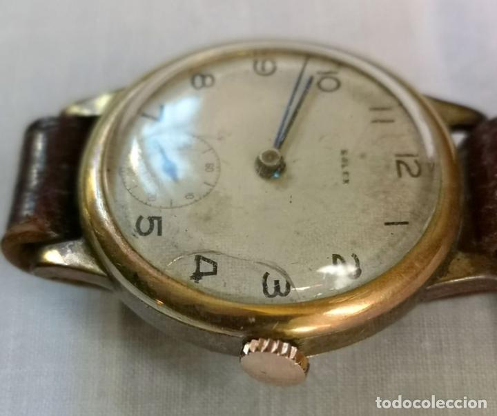 Relojes de pulsera: ROLEX WD. ORO 9KT. NECESITA REVISIÓN Y ALGUNA REPARACIÓN. SUIZA. PRINC. S. XX - Foto 4 - 154261756