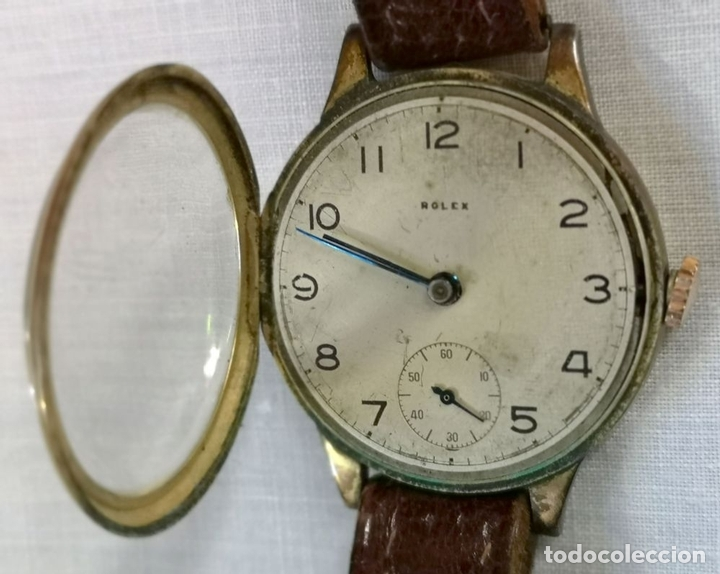 Relojes de pulsera: ROLEX WD. ORO 9KT. NECESITA REVISIÓN Y ALGUNA REPARACIÓN. SUIZA. PRINC. S. XX - Foto 7 - 154261756