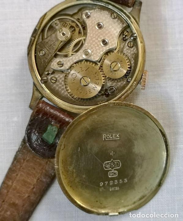 Relojes de pulsera: ROLEX WD. ORO 9KT. NECESITA REVISIÓN Y ALGUNA REPARACIÓN. SUIZA. PRINC. S. XX - Foto 8 - 154261756