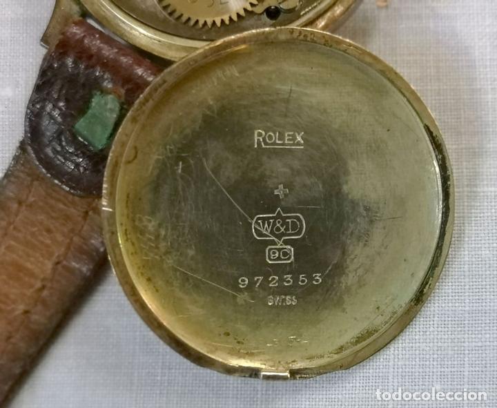 Relojes de pulsera: ROLEX WD. ORO 9KT. NECESITA REVISIÓN Y ALGUNA REPARACIÓN. SUIZA. PRINC. S. XX - Foto 9 - 154261756